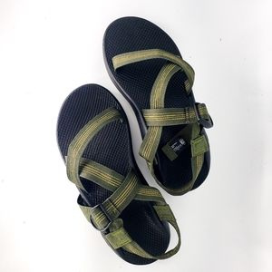 New Mens Green Chaco Z/1 Classic Sandals Sz 11